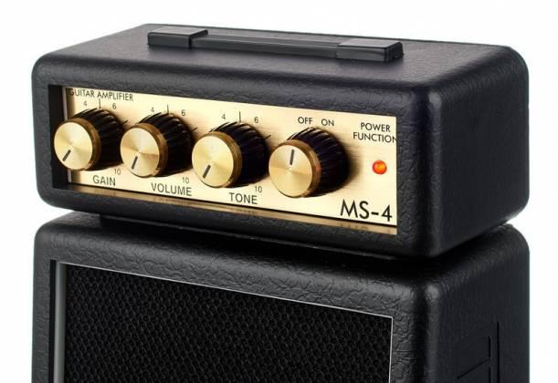 mini ampli marshall ms4 - zoom sur les réglages