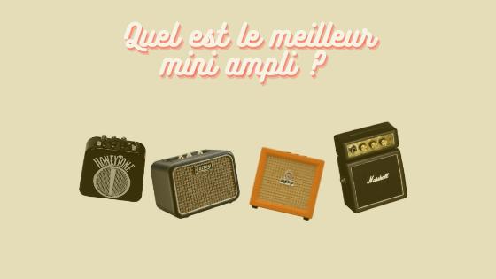 Mini ampli guitare comparatif