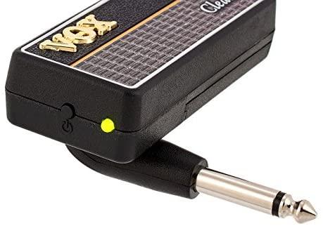 Vox Amplug 2 clean : vue du bouton On / Off